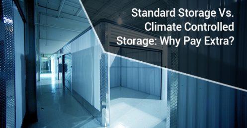 Standard Storage Vs. Climate Controlled Storage