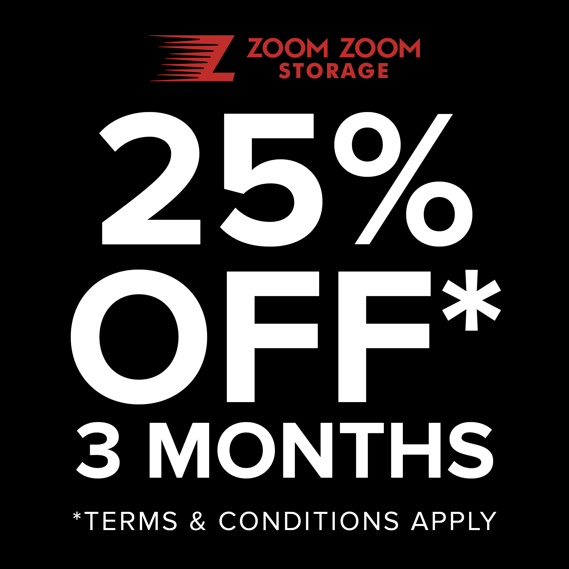 25% OFF for 3 Months